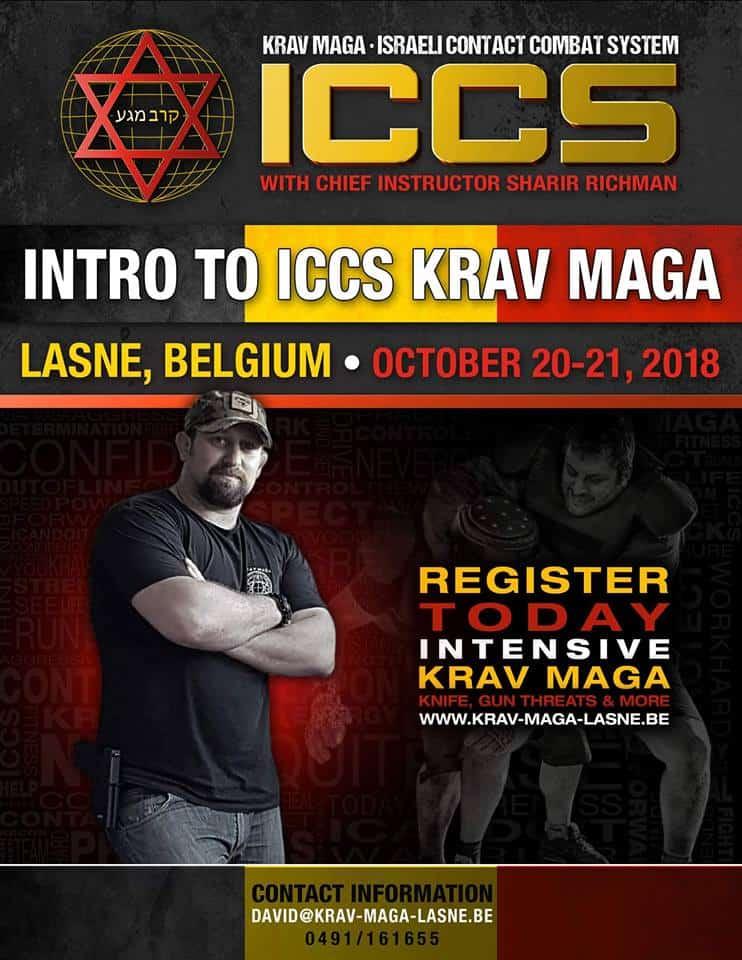Stage iccs Belgique lasne 102018 - Stage Krav Maga ICCS - Lasne - Belgique - Octobre 2018