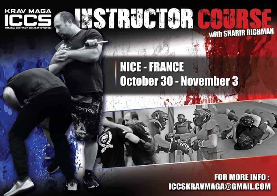 Stage iccs France Nice 112019 - Stage Krav Maga ICCS – France – Octobre 2019