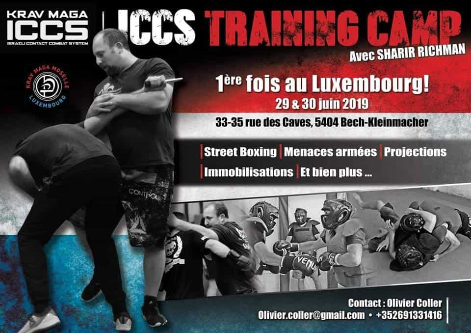 Stage iccs Luxembourg 2019 - Stage Krav Maga ICCS – Luxembourg – Juin 2019