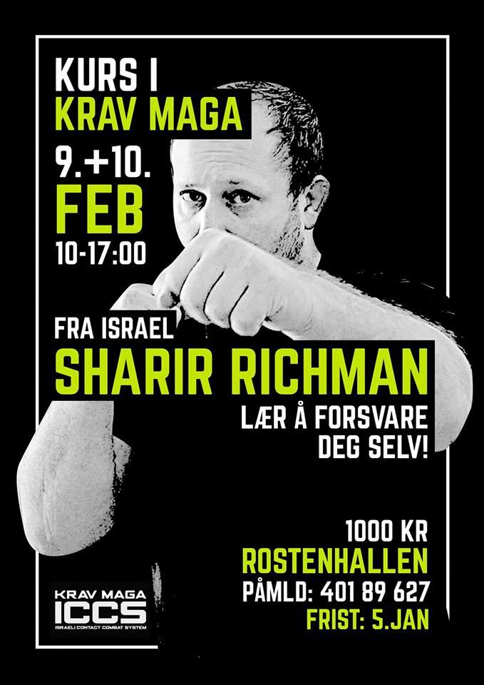Stage iccs Sweden 022019 - Stage Krav Maga ICCS – Suède – Février 2019