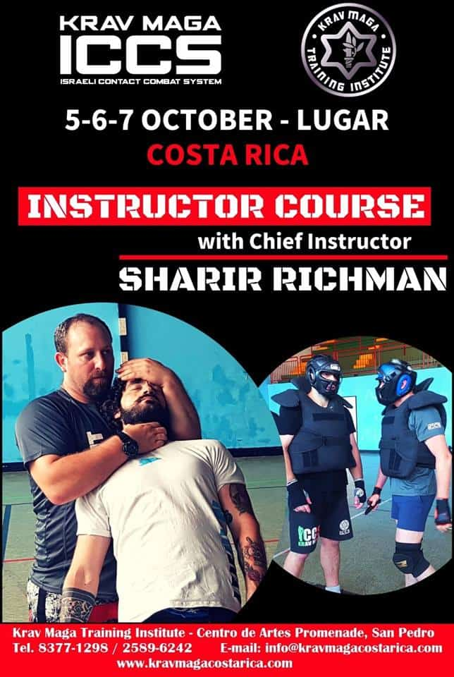 Stage iccs costarica 102018 - Stage Krav Maga ICCS – Costa Rica – Octobre 2018