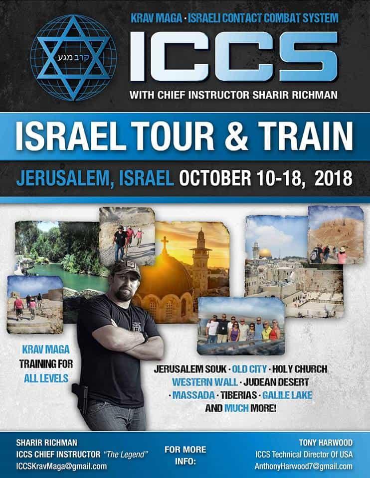 Stage iccs israel 102018 - Stage Krav Maga ICCS – Israël – Octobre 2018