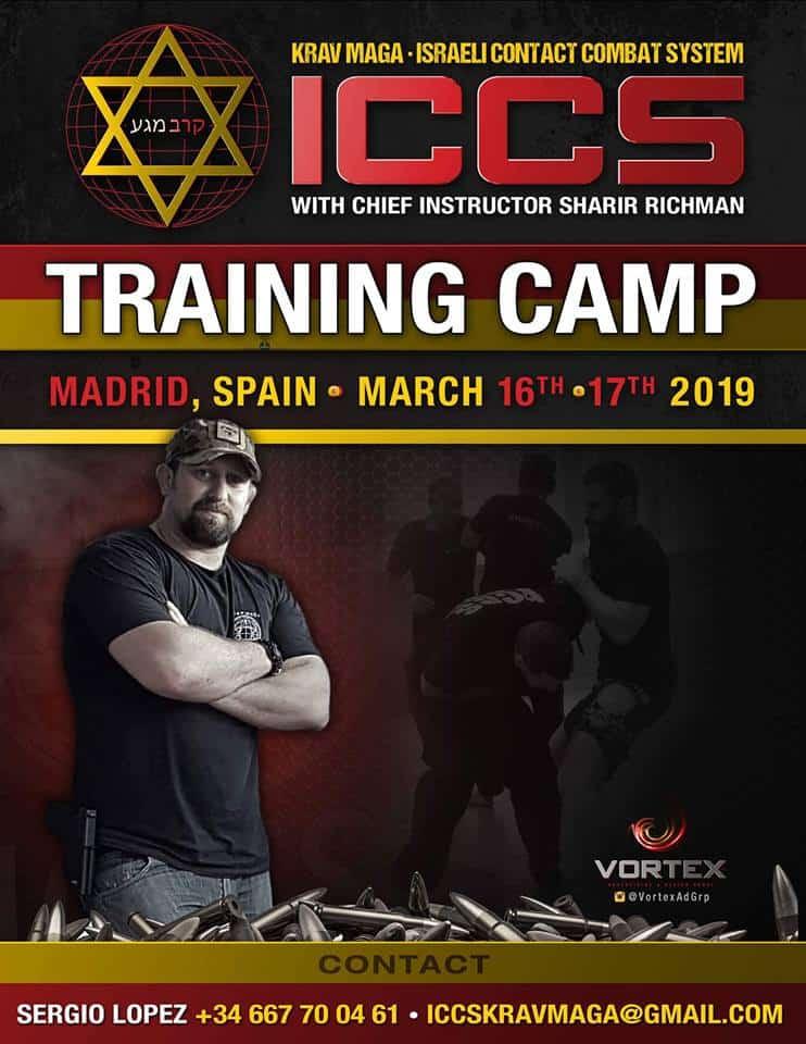 Stage iccs spain 032019 - Stage Krav Maga ICCS – Espagne – Mars 2019