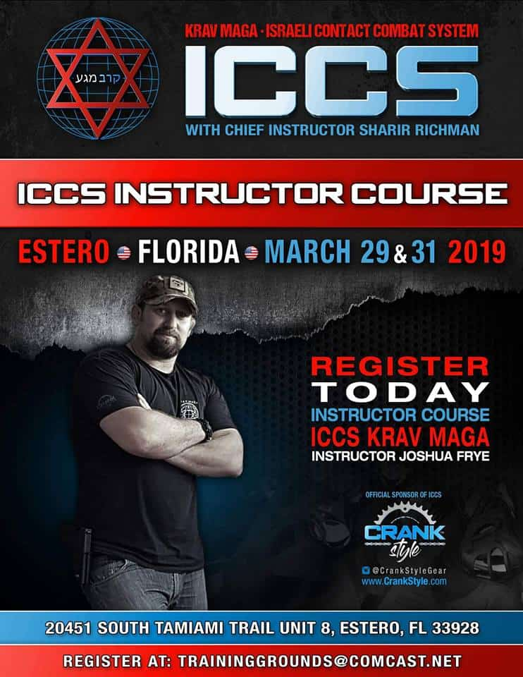 Stage iccs usa florida 032019 - Stage Krav Maga ICCS – USA Florida – Mars 2019