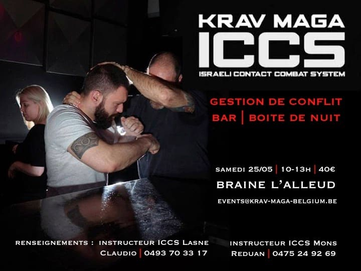 events iccs braine 052019 - Events Krav Maga ICCS – Braine l'Alleud – Belgique – Mai 2019